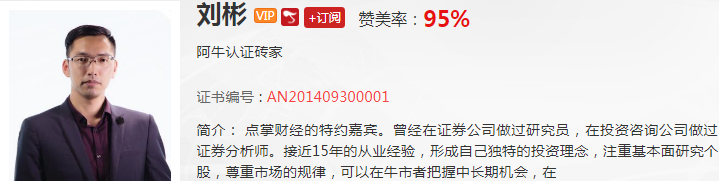 【观点】刘彬:牛市!别怕!仓位与赚钱的正确认知!