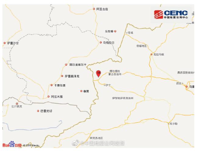 突发!新疆伊犁发生5.0级地震,霍城、伊宁、博乐、霍尔果斯等