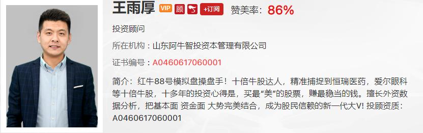 【观点】王雨厚:一定要对周期股心存敬畏!